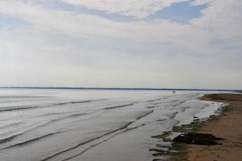 Le silence règne sur Utah Beach