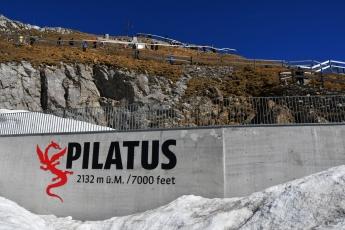 Le sommet du Pilatus culmine à 2'132 mètres d'altitude