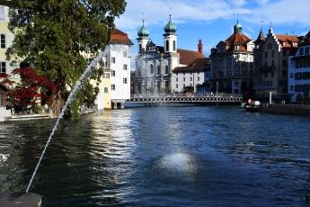 Une vue de Lucerne