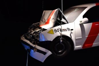 Résultat d'un crash à 50 km/h