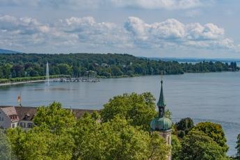 Vue depuis une tour de la Cathédrale de Constance