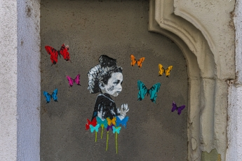 Le street art est très présent à Constance