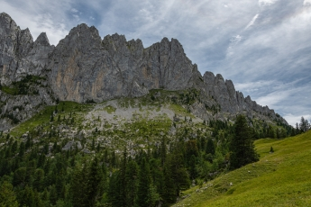 Vue depuis la région des Gastlosen