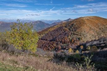 Vue depuis la télécabine du Monte Lema