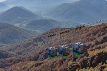 Les télécabines du Monte Lema