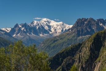 Le Mont-Blanc, majestueux...
