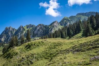La vallée de la Brecca, dans la région du Lac Noir