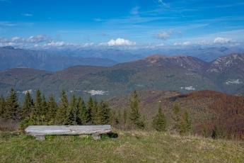 Vue depuis le sommet du Monte Lema